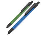 Kugelschreiber aus Aluminium in Metallic-Optik mit Touchfunktion